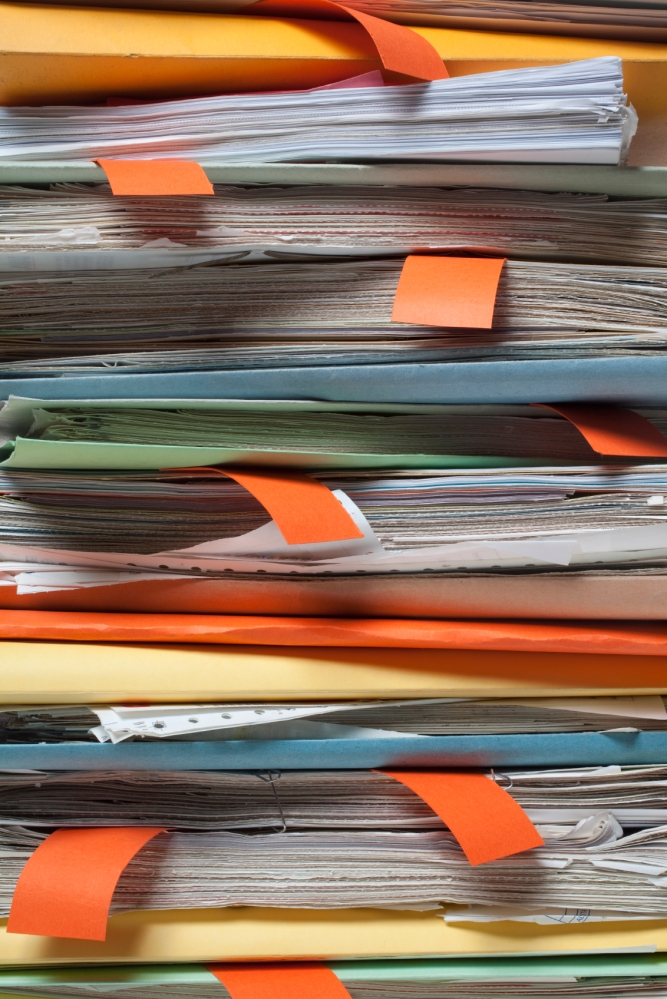 Organizing Paper Files