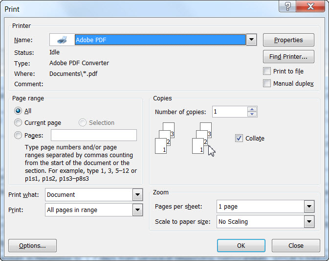NUANCE PDF PRINTER DRIVER DOWNLOAD